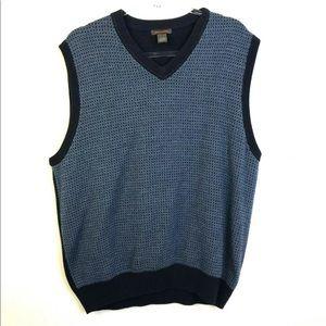 Dockers Mens Sweater Vest Blue XL